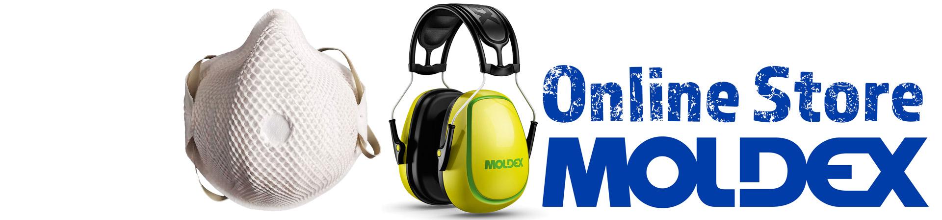 Atemschutz Gehörschutz , Moldex - Fachhändler | Einzelabgabe und Gewerbemengen